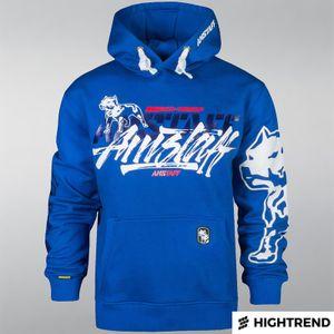 Amstaff Hoodie Tekal Blue