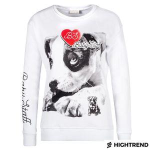 Babystaff Sweater Koinu White