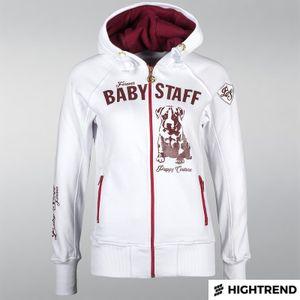 Babystaff Hoodie Sideka White