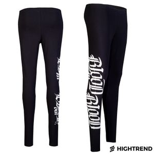 Blood In Leggings Logo Black