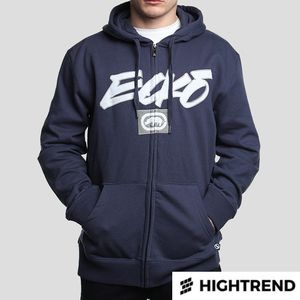 Ecko Hoody Core Zip Blue