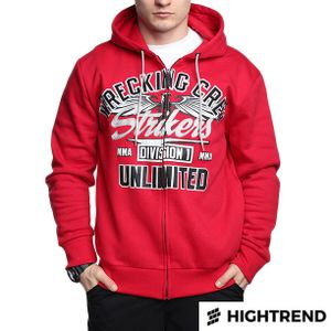 Ecko MMA Wrecking Crew Full Zip Red