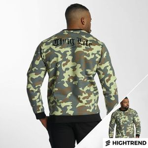Thug Life Attack Sweater Camouflage