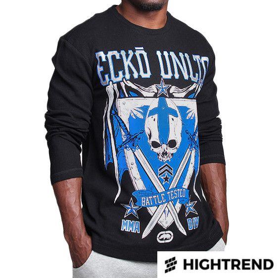 Ecko Pullover MMA Division Thermal Black