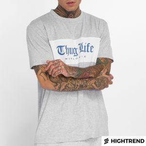 Thug Life T-Shirt Freeze Grey
