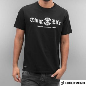 Thug Life T-Shirt Ghetto Boys Black